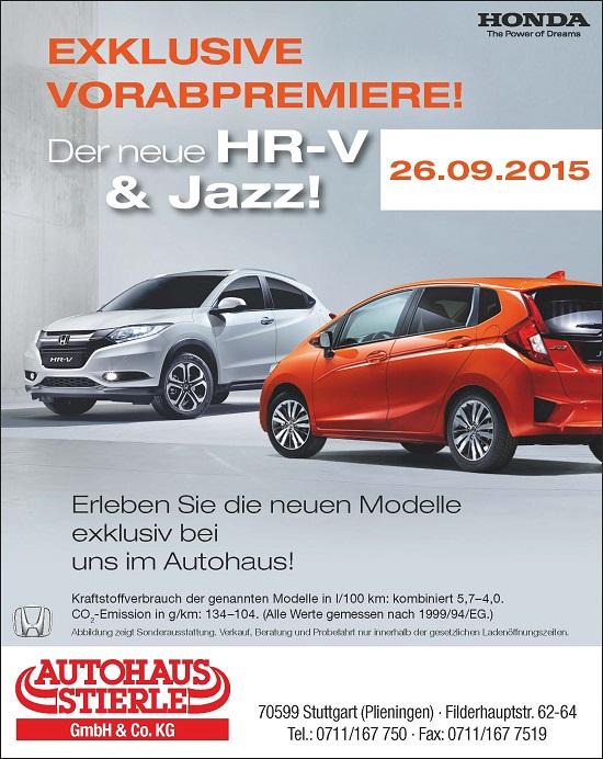 Jazz und HR-V Premiere