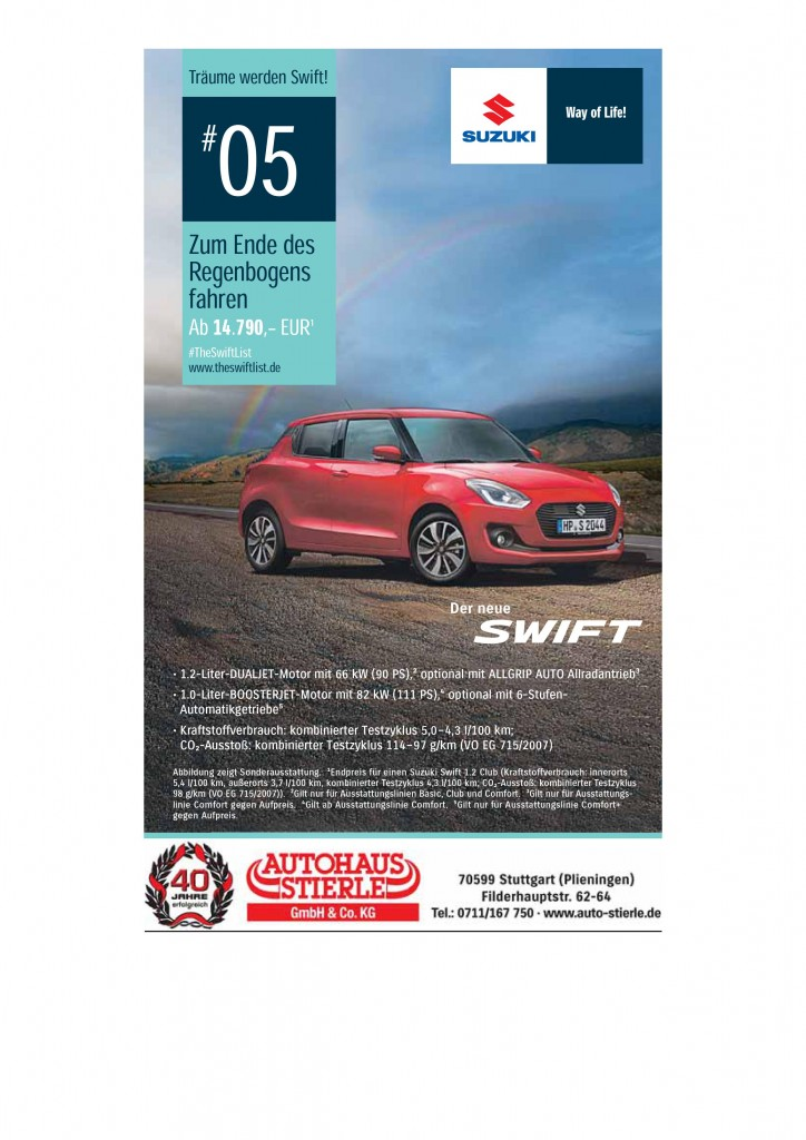 Suzuki Swift Barangebot