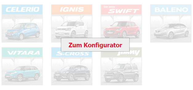 Neuwagenkonfigurator Suzuki